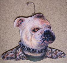 Clothes Hanger Military Animal Marine Corps Bulldog Stupell wood NEW