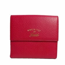 72c7465f74f Gucci Women s Classic Swing Blossom Leather Pink Flap Wallet Small 368233