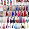 Women Long Curly Wavy / Straight Wigs Short Bobo Hair Full Wig Cos Party Costume