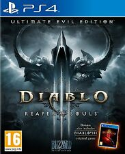Ps4 jeu Diablo 3 III reaper of souls-ultimate Evil Edition article neuf