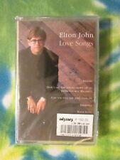 Elton John Love Songs  Made in Philippines NEW SEALED Rare Cassette