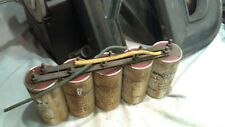 5 of 650 MFD 200WVDC Capacitors from 1930's Western Electric rectifier unit #A