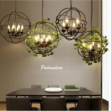 Industrie Retro Kronleuchter Deckenlampen Vintage Loft Lampe Leuchte 5-armig