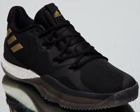 adidas Crazylight Boost 2018 New Men's Basketball Shoes Core Black Gold AQ0006