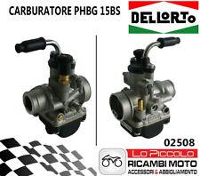 02508 Carburetor Dellorto Phbg 15 BS 2T Air Manual Universal Minimoto