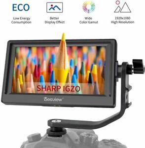 """Desview Mavo-P5 5.5"""" on Camera Monitor IGZO Screen with 4K HDMI Input for DSLR"""