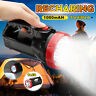 Rechargeable Torch 1/9 LED Candle Power Work Spot Lights Outdoor Hand Flash Lamp