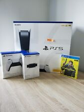 Sony PlayStation 5 ps5 disc Edition + controlador + cámara + juego Mega set 🎁