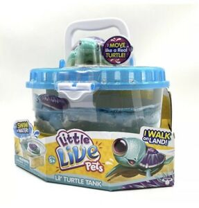NEW Little Live Pets Turtle  Plus Tank- Great Gift. Rare Free Postage