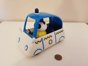 Peppa Pig PC Panda Police Car, 6 Inches, See Full Set & Combine Postage