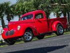 1940 Willys Pickup  1940 WillysPickupRedSurvivor Classic Car Services LLC