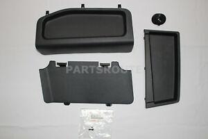 Toyota FJ Cruiser 07-14 OEM Rear Trim Panels Hooks Tray for Removed Sub Woofers