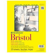 Strathmore 300 Bristol Smooth 9X12 Pad