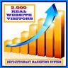 01-SERVIZIO PUBBLICITA' PER SITI WEB IN INTERNET-(2000 REAL VISITORS).