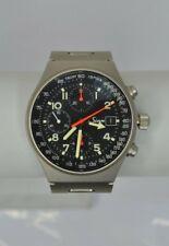 Sinn Model 144 GMT Steel Wrist Watch Automatic Movement Chronograph Used