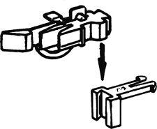 Roco 40287 Kurzkupplungsköpfe mit Vorentkupplung, höhenverstellbar.