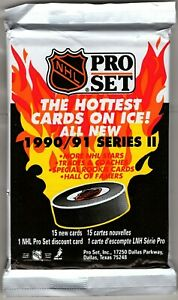 1990-1991 Pro Set Hockey Series II.  Choose your card(s)
