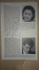 MIDORI violinist SIGNATURE & PHILARMONIC ORCHESTRA PROGRAM 1994 ISRAEL JAPAN