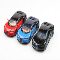 1:32 Bugatti Chiron Model Cars Alloy Diecast Light Vehicles Pull Back Toys Gifts