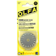 OLFA Rotary Cutter 45MM Pinking Refill Blade