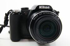 Nikon Coolpix P90 schwarz, sehr guter Zustand
