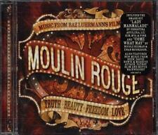 Moulin Rouge Ost - David Bowie/Aguilera/Pink/Bono/U2/Beck/Massive Attack Cd Vg