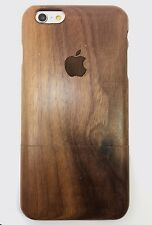 GUITAR TONE WOOD IPHONE 6/6S CASE REAL WALNUT WOOD HAND MADE COVER GENUINE WOOD