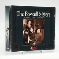 THE BOSWELL SISTERS THE OBJECT OF MY AFFECTION Rare CD Album - VG Condition