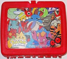 Pokemon Lunch Box Thermos 2000 Nintendo Multiple Characters Red