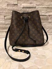 Authentic Louis Vuitton NEONOE NEO NOEMonogram Bucket Bag with Adjustable Strap