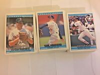 1992 Donruss Baseball Base Lot 50 Cards RCs Stars Included