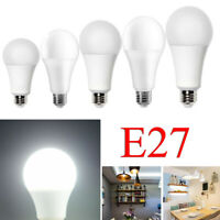 E27 Screw LED Light 3W 5W 7W 9W 12W Cool White Lamp Camping Energy Saving Bulb