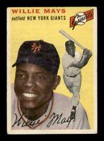 1954 Topps Set Break # 90 Willie Mays VG - VG-EX *OBGcards*