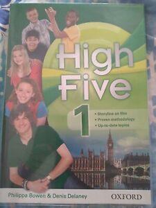 High Five 1 OXFORD libro Inglese per Prima Media con CD - già copertinato