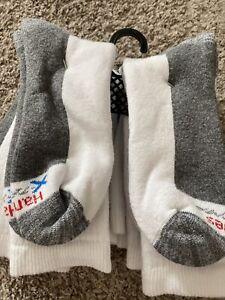 Hanes Ultra Cushion Crew Socks 6 Pairs, Size 6-12 Shoe Size