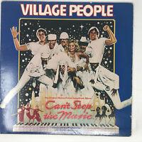 Village People Can't Stop The Music Soundtrack LP Vinyl Record Original 1980