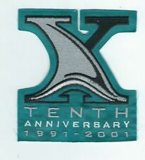 San Jose Sharks 10th Anniversary in the NHL Official Jersey Patch TEAL