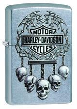 Zippo  Harley-Davidson 207 Street Chrome Spring 2018 neu 60003930