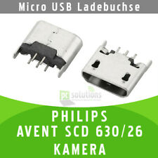 ✅ PHILIPS AVENT SCD 630/26 KAMERA Micro USB Ladebuchse Buchse Port Connector