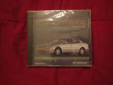 2002 DAEWOO MOTOR AMERICA INC LEGANZA NUBIRRA LANOS INTRO PRESS KIT CD-ROM RARE
