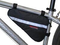 Bushwhacker Gallup Bicycle Frame Bag Cycling Pack Under Seat Top Tube Bike Wedge