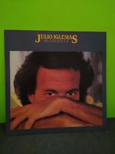 Julio Iglesias Moments LP Flat Promo 12x12 Poster