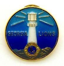 Pin Spilla Lions International Georgia Lions cm 2,5