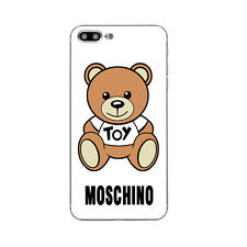 Case For iPhone 5S 5C 6 6S 7 Plus Soft TPU  Phone Back Cover Moschino Skins