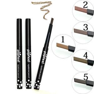 POPFEEL Eyebrow Pencil Waterproof Twist Up Pen Eye brow Brush Tattoo Pen UK
