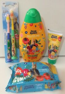 """4️⃣ Items Health & Beauty for Kids with """"PETER RABBIT"""" Design"""