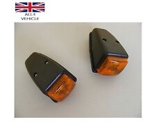 2 x Amber Orange position latéral toit cabine Lampe Camion Bus Pick up E-marqué Van CE