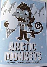 The Arctic Monkeys  Poster Mini- Reprint 2007 Kansas City Show Unsigned