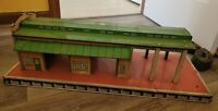 Vintage Marx Tin Litho Freight Terminal Large Train Station