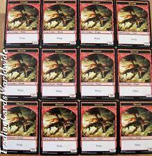 Dragon Token Set // 12x Battle for Zendikar // NM // engl.